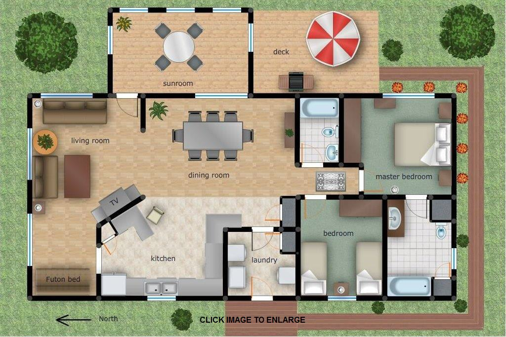Guesthouse Floor Plan