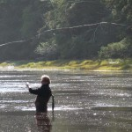 fly fishing in the tlell river